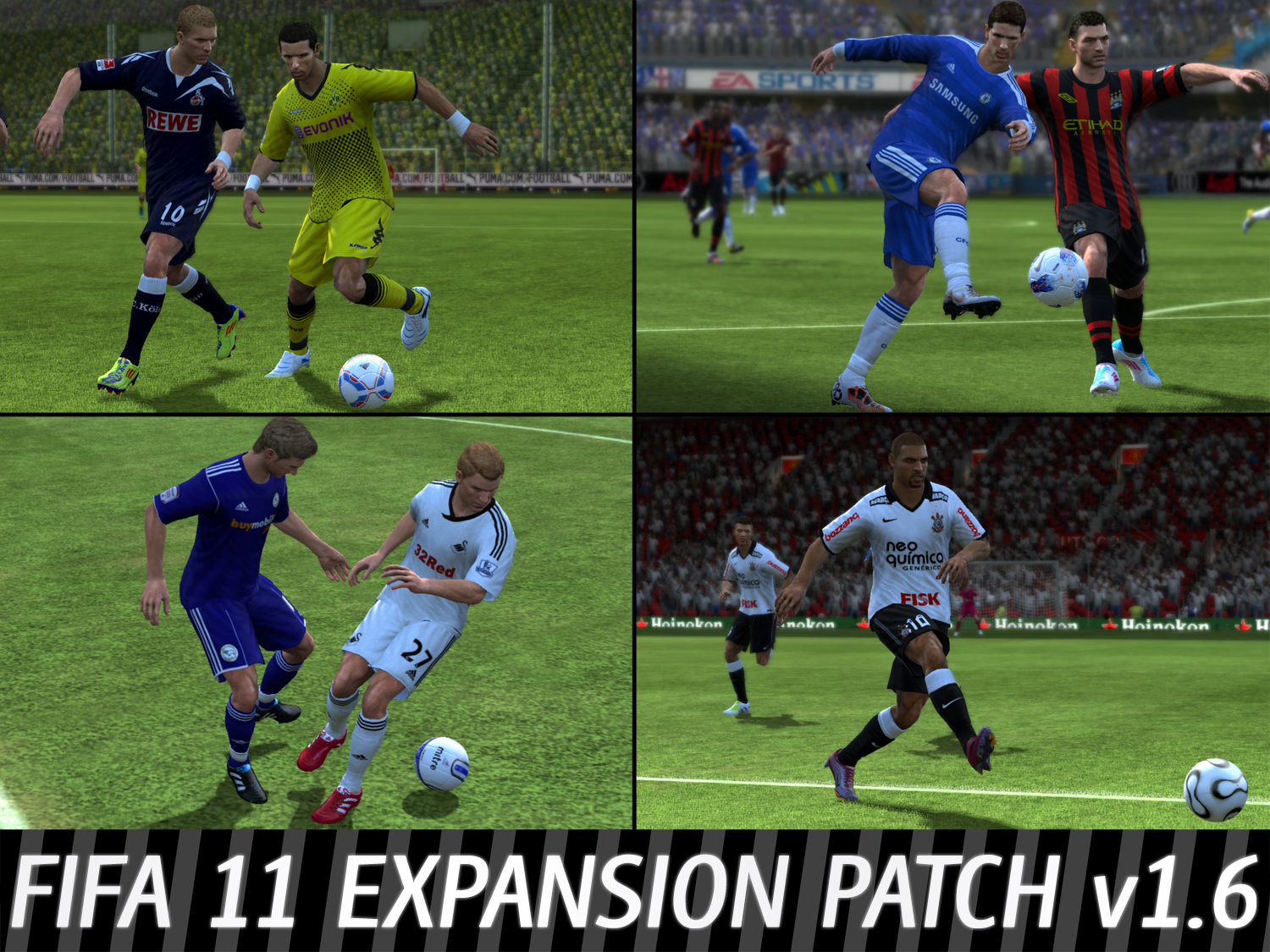 Скачать Patch Expansion Patch v1.6 (FIFA 11) ENG футбол, Патч, FIFA, PC, иг